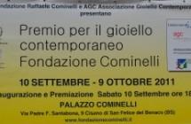 """Premio per il gioiello contemporaneo """"Fondazione Cominelli"""""""