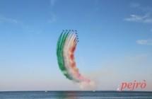 Frecce Tricolori a Marina Pesculuse