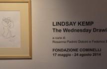 "Lindsay Kemp ""The wednesday drawings"""