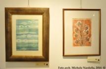 Opere su carta di Alfredo Bortoluzzi, dal Bauhaus al mare