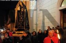 Venerdì di Passione con la processione carapellese dell'Addolorata