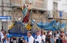"""""""Processione del Paradiso"""" in onore della Madonna del Carmine"""