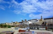 Animali fantastici in riva all'Arno
