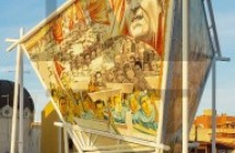 Il recupero e la consegna del murale in onore di Giuseppe Di Vittorio
