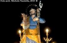 Festa di San Giuseppe con processione e fanoje