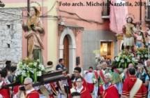Processione dei SS. Patroni con omaggio all'Arciconfraternita del SS. Rosario