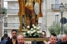 Processione di San Michele Arcangelo e della Madonna del Rosario e falò devozionali