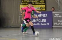 Calcio a 5 serie C femminile,  goleada per il CF Pelletterie B contro la Mattagnanese