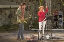 Ad Ecolandia con Alberto La Neve e Fabiana Dota (Ecojazz Festival)