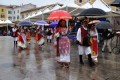 Cavalcata Sarda sotto la pioggia