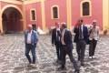 Dalla Reggia al Granatello: il sovrintendente Osanna in visita a Portici