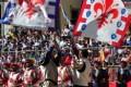 Calcio Storico Fiorentino 2015, la finale di San Giovanni