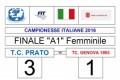 Tennis A1 femminile, il TC Prato nuovamente campione d'Italia