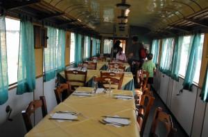 Locomotiva-punto ristoro in c.da San Nicola di Serra Pedace