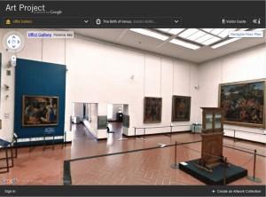 Visita Galleria degli Uffizi Virtuale
