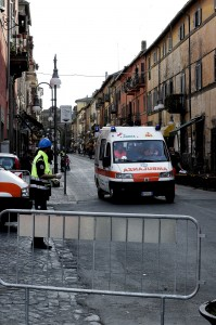 Attentato terroristico nel palazzo comunale
