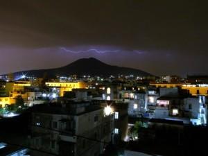 Notte di fulmini e… saette