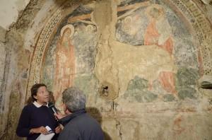 Chiesa S. Anna, scoperto affresco del '300
