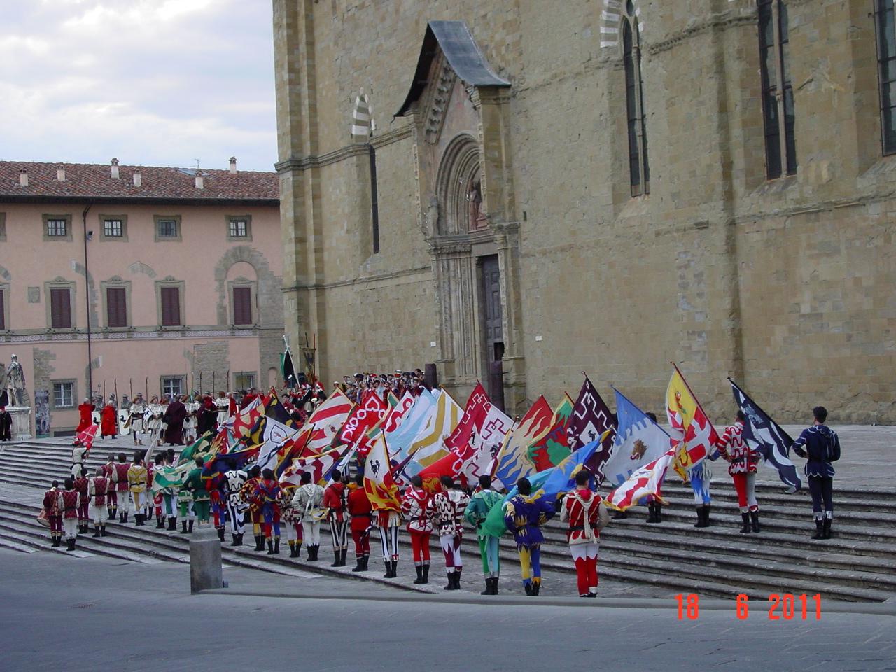 Inaugurazione Museo di Porta Santo Spirito: il. - Giostra del 50