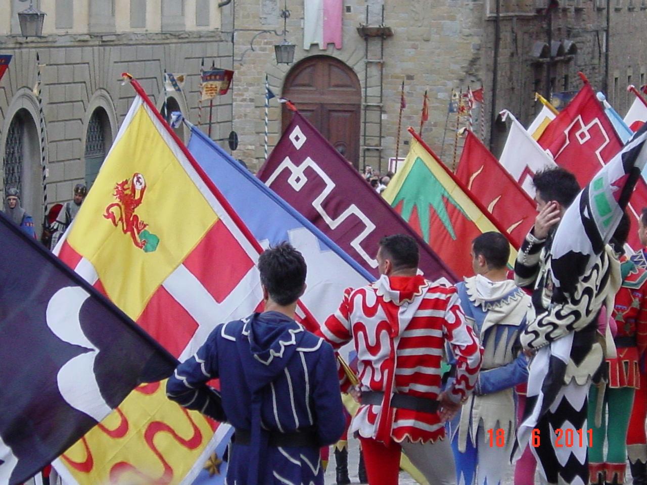 Inaugurazione Museo di Porta Santo Spirito: il. - Giostra del 27