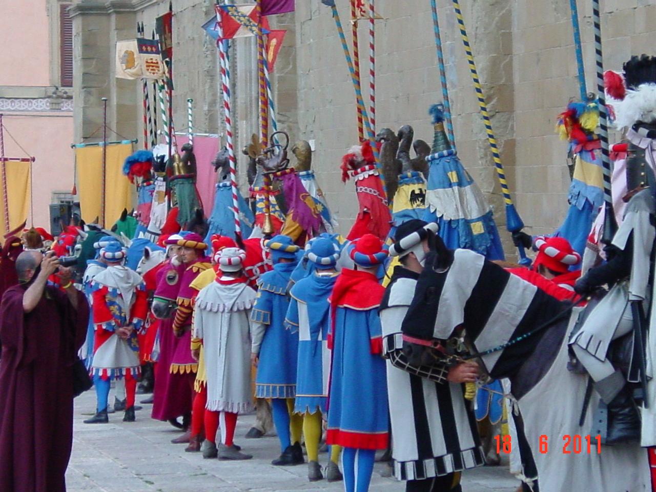 Inaugurazione Museo di Porta Santo Spirito: il. - Giostra del 48
