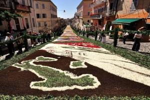 Infiorata 2011 – Unità d'Italia… 150 anni di storia