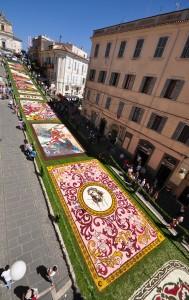 Infiorata di Genzano di Roma 2011