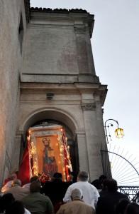 La processione di San Matteo
