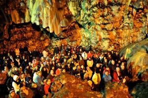 Messa di Natale nella Grotta di Montenero