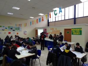 Gara di matematica a squadre tra Scuole Medie