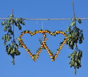 San Valentino, patrono locale e protettore degli agrumeti