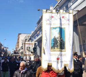 Festa e fuochi per Maria SS. della Fontana