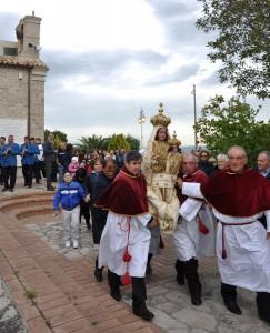 Traslazione in paese della Madonna di Serritella