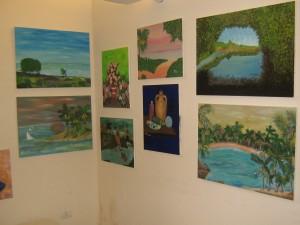 Mostra di pittura per la socializzazione