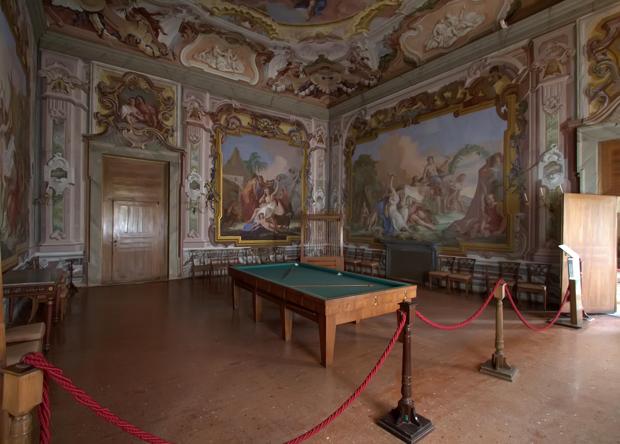 Interni Di Villa Pisani : Gli interni di villa pisani stra notizie