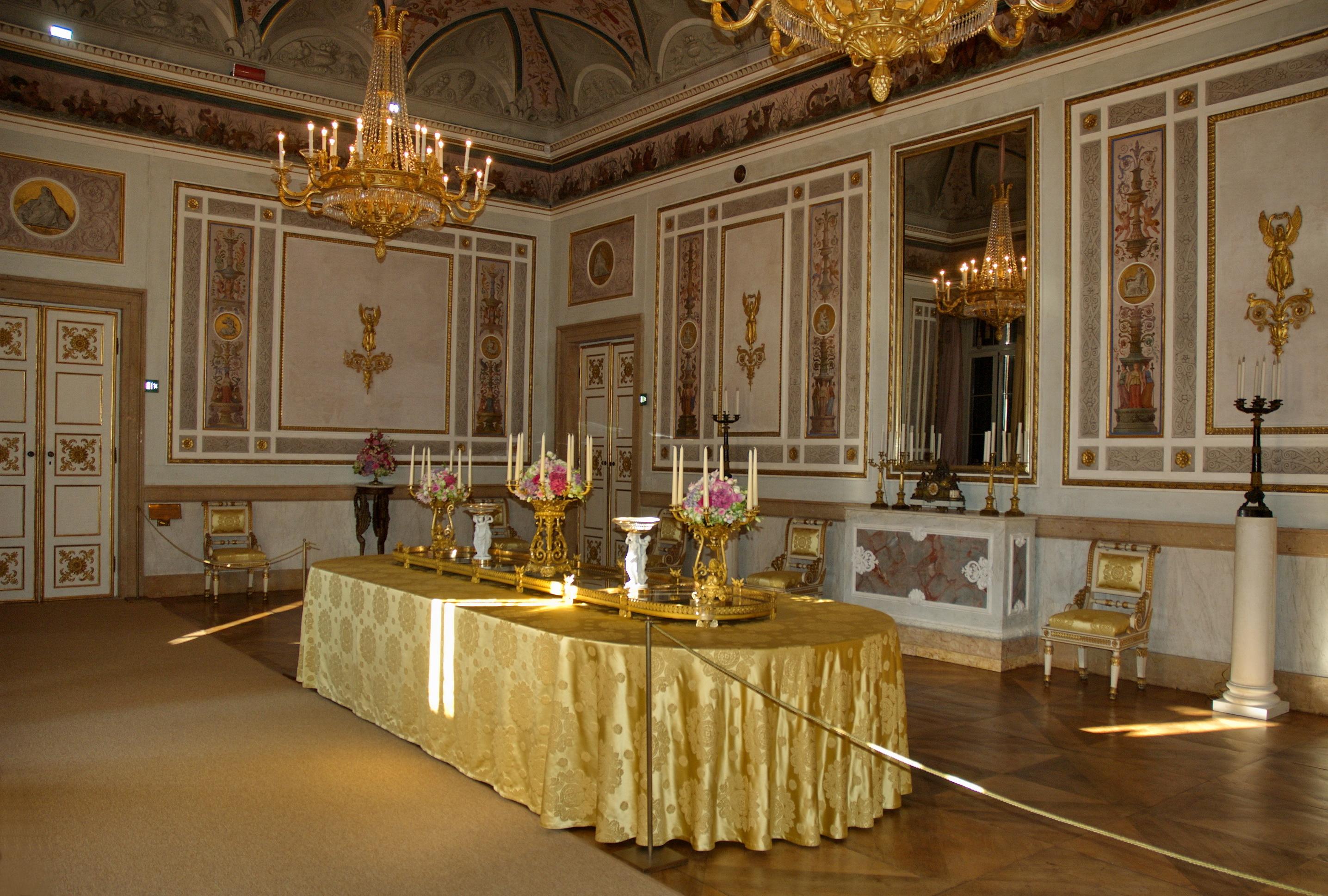 Le stanze di sissi a palazzo reale venezia notizie - Stanze da pranzo ...