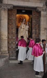 La processione della Madonna di Valleverde