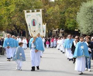 Processione di San Marco vescovo e lancio delle noci