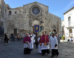 La processione di San Celestino e della Madonna delle Grazie