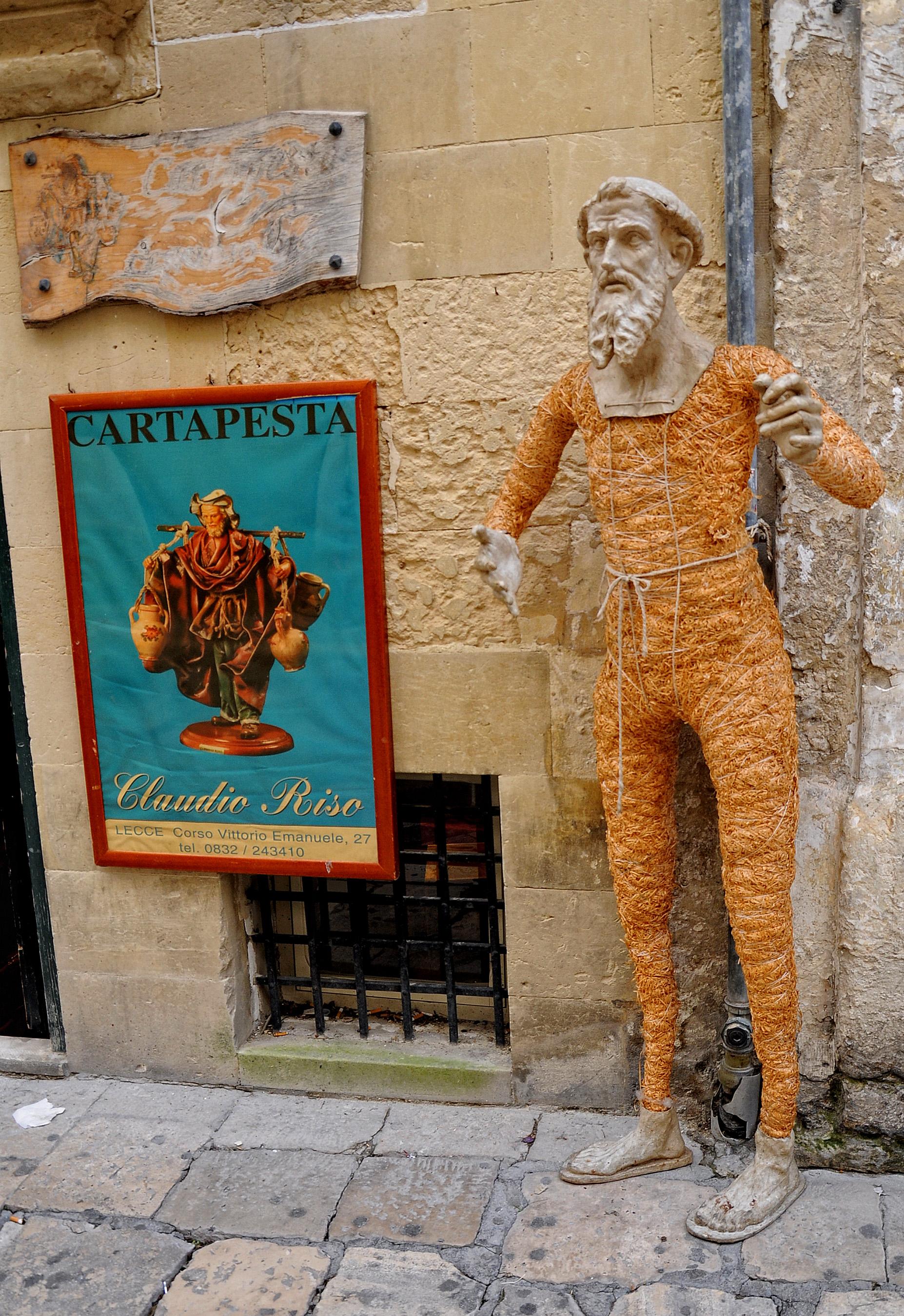 La cartapesta, antico mestiere  Lecce Notizie