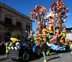 Nel Carnevale 2013 sfila Fellini