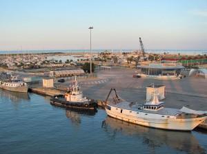 Il porto insabbiato