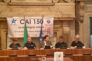 Conferenza stampa CAI 150 7-8-9 giugno 2013