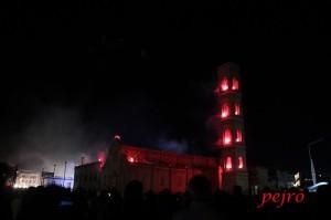 L'incendio del campanile