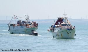 La processione a mare del patrono San Basso