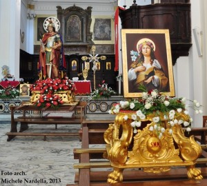 Festa patronale serrana in onore di S. Mercurio martire