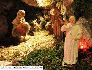 Un presepe rodiano in onore di Papa Francesco