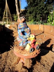 """I tappi dell'orto condiviso """"Orti dipinti"""""""