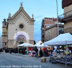 Festa lucerina in onore di San Ciro medico, martire ed eremita