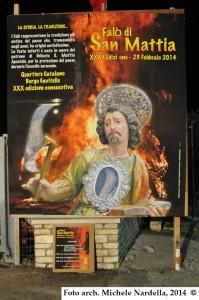 Falò di San Mattia, trentacinquesima edizione